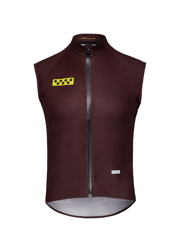 BOLD / AquaTECH Gilet - Fired Brick