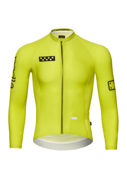 BOLD / LunaPRISM L/S Jersey - Neon Yellow