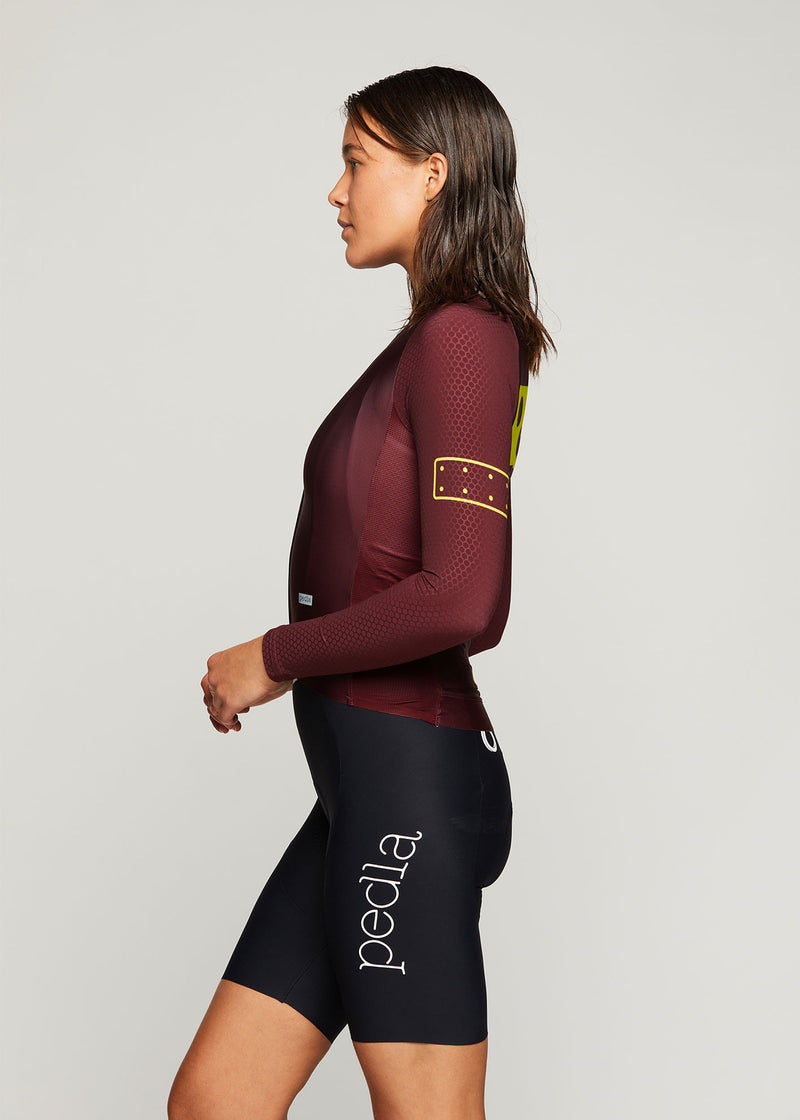 BOLD / Women's LunaPRISM L/S Jersey - Fired Brick