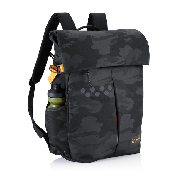 colours and striking best place for superior materials Pedla x Crumpler / ProPedla Backpack - Charcoal