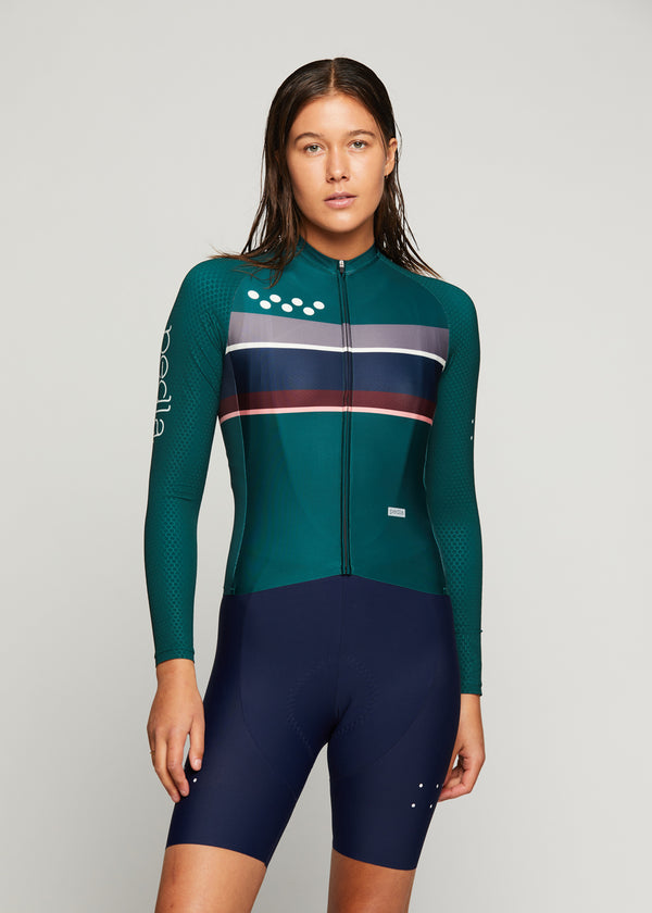 Heritage / Women's LunaPRISM L/S Jersey - Green