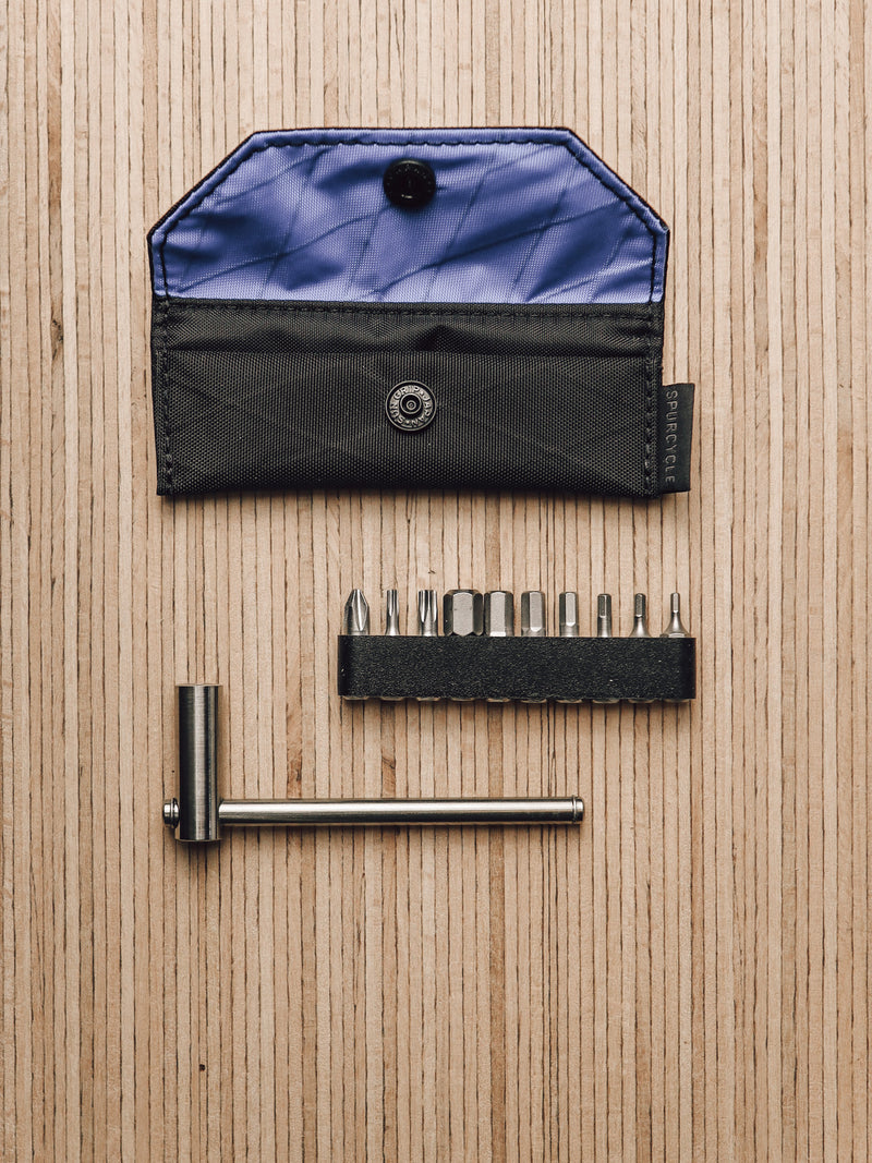 Spurcycle Tool and Carry Case