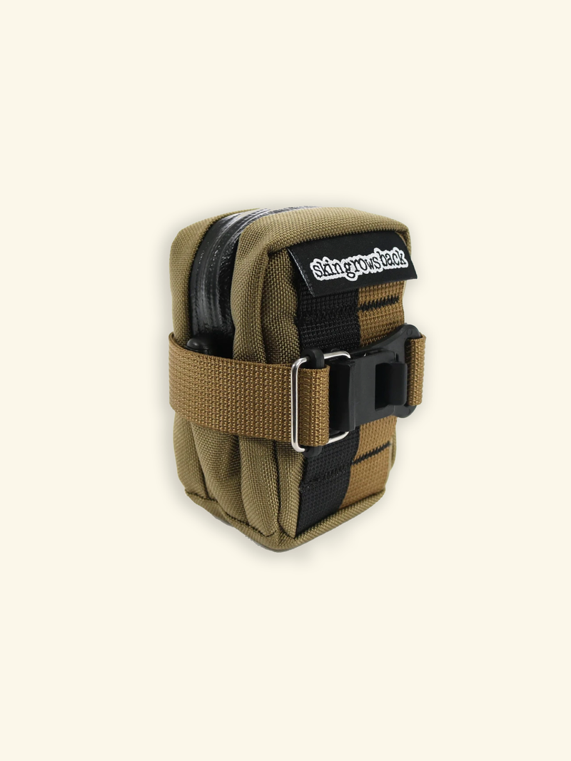 Skingrows Back - Micron Saddle Bag - Arid