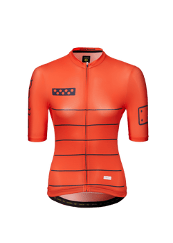 Horizon / Women's LunaLUXE Jersey - Neon RED