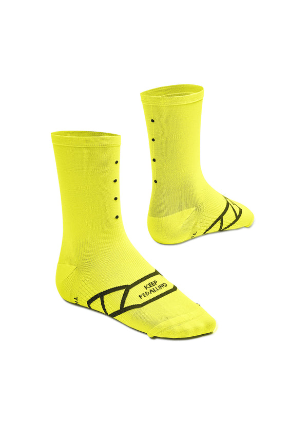 Lightweight / Neon Yellow Socks