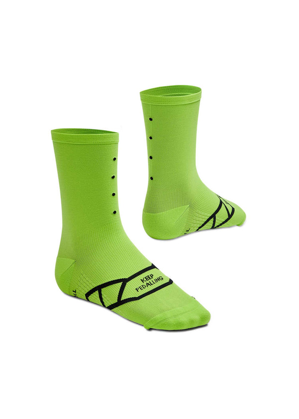 Lightweight / Lime Green Socks