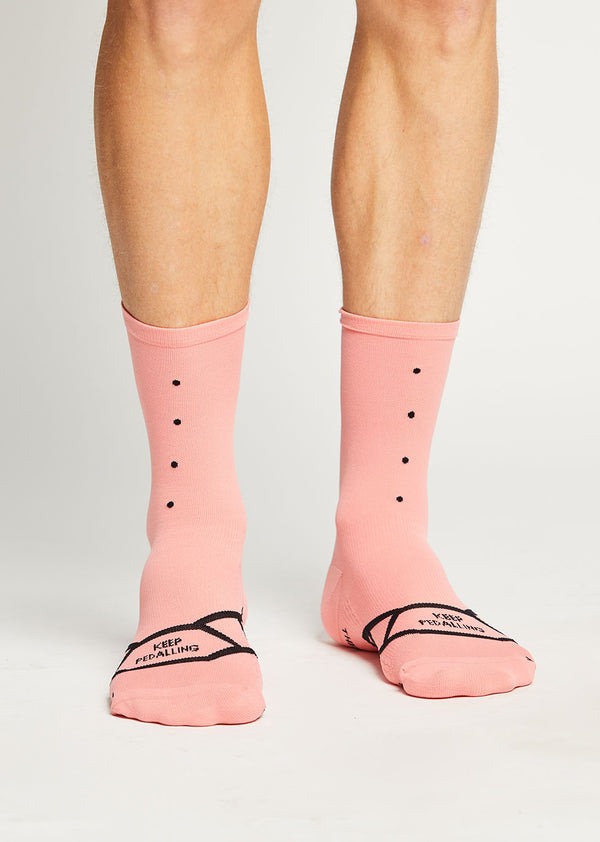 Lightweight Socks / 3 Pack - Pink