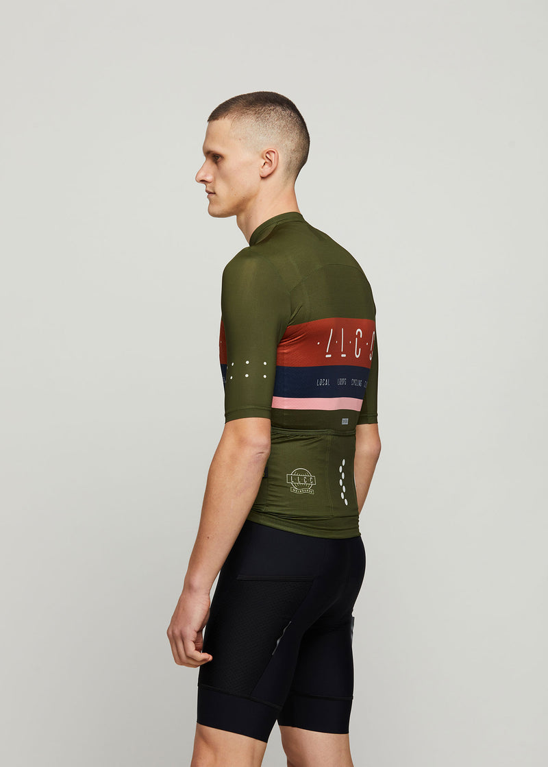 Loops / LunaLUXE Jersey - Olive