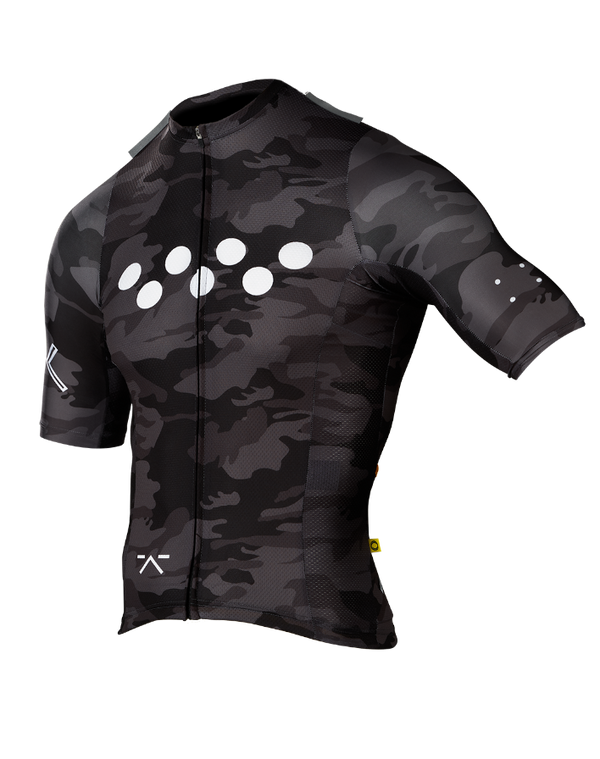 RideCAMO / AeroLUXE Jersey - Charcoal