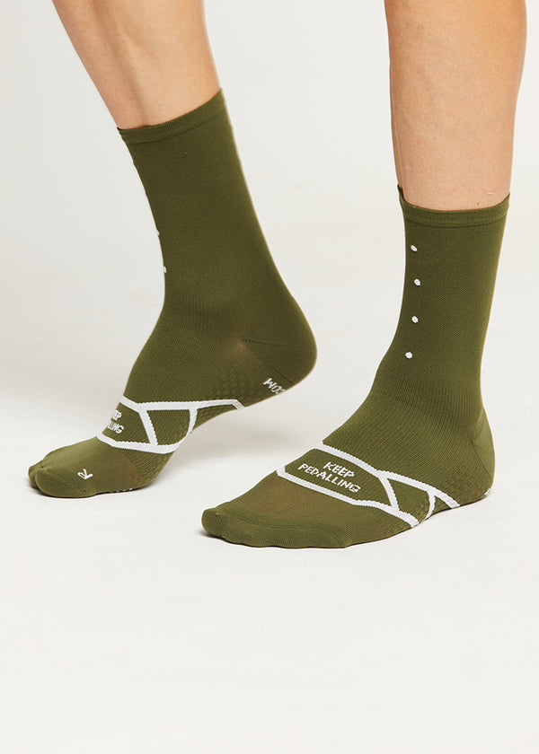 Lightweight / Olive Sock