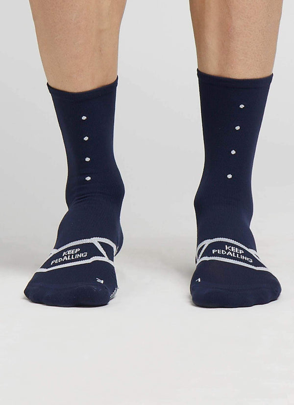 Lightweight / Navy Sock