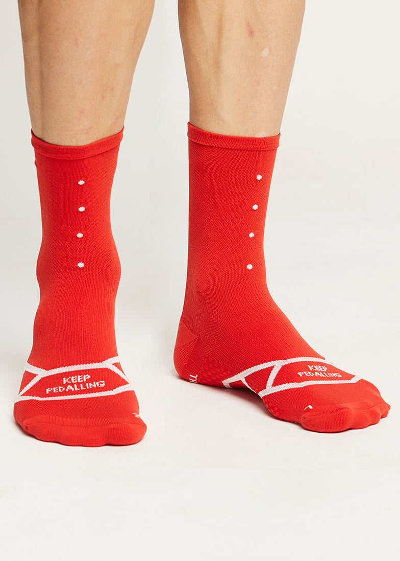 Lightweight / Red Socks