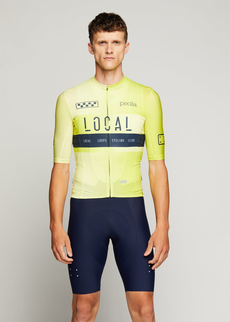Team / Climba Jersey - Neon Yellow