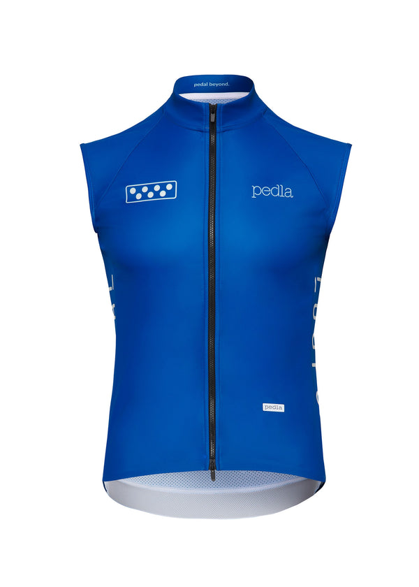 Team / WindTECH Gilet - Process Blue