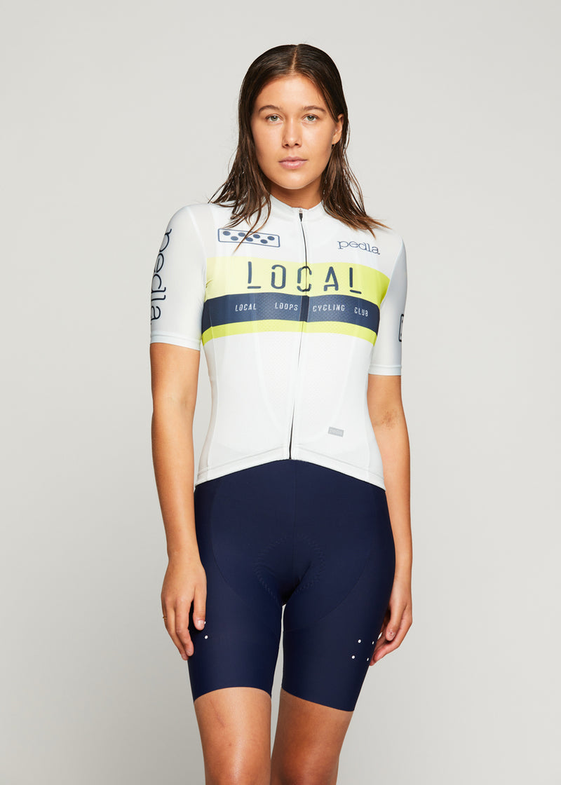 Team / Women's LunaLUXE Jersey - Off White