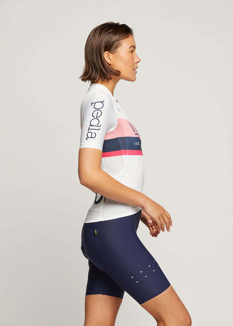 Team / Women's LunaLUXE Jersey - White