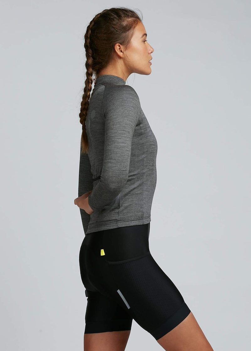 Roaming / Women's Lana L/S Jersey - Graphite
