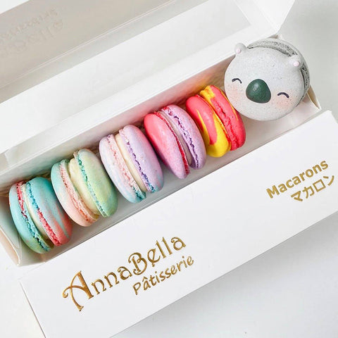 image of macarons from annabella patisserie