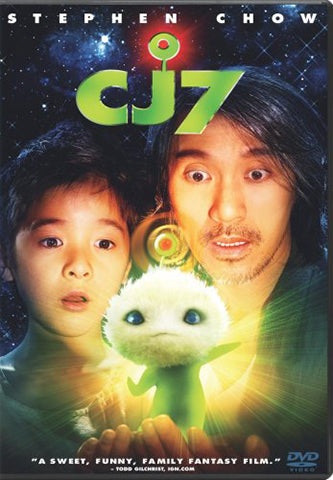 movie poster of chinese comedy touching family movie CJ7