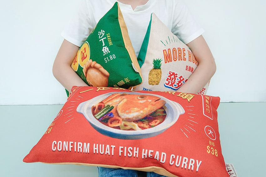 huat hawker stall cushion cover wheniwasfour