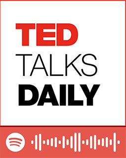 spotify code for podcast informational ted talks daily
