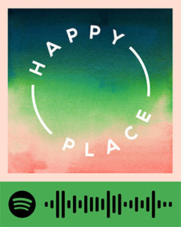 spotify code for podcast happy place