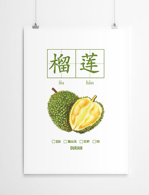 Durian Poster