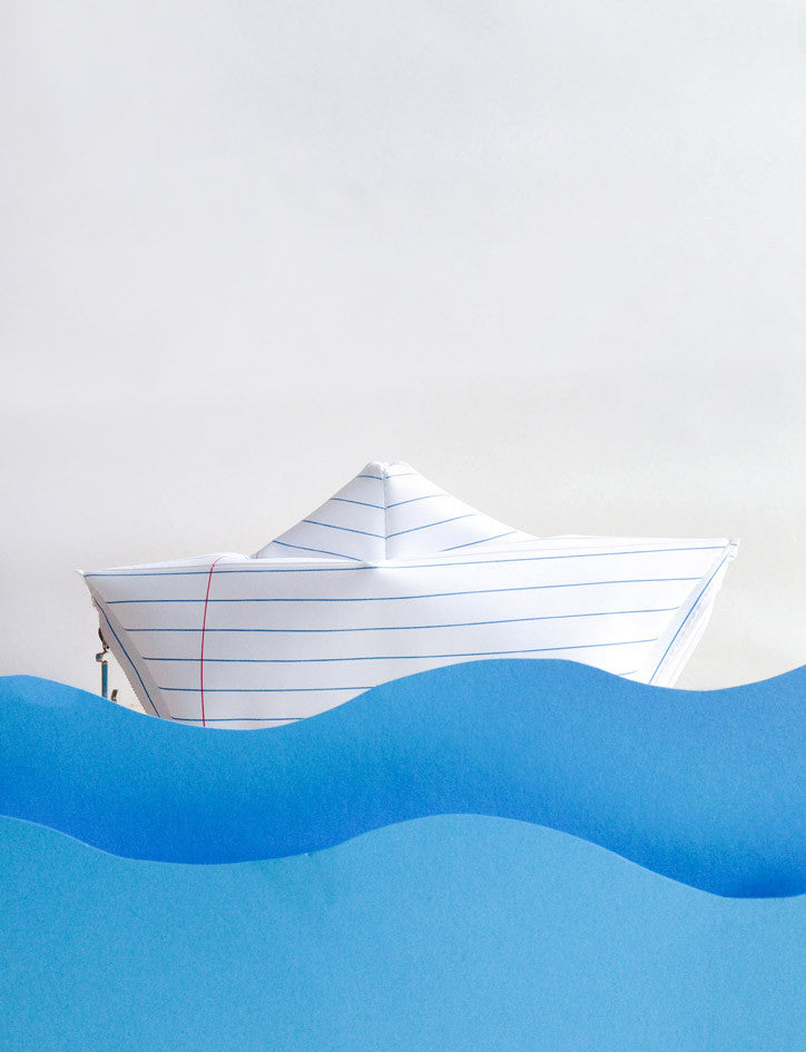 Paper Boat Pencil Case