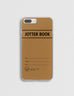 Old-School Singapore Jotter Book iPhone Cover