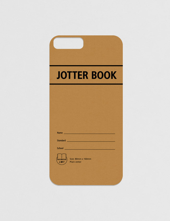Jotter Book Modicase Film for iPhone in brown