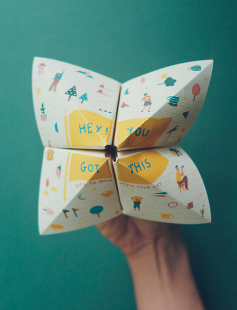 Chatterbox Cheer Up Card