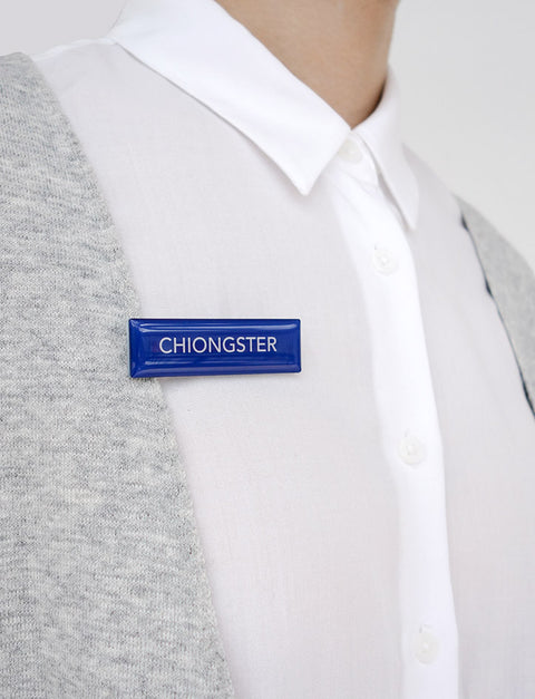 Singapore Back-to-School Name Tag - Chiongster