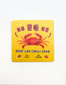 singapore chili crab coaster