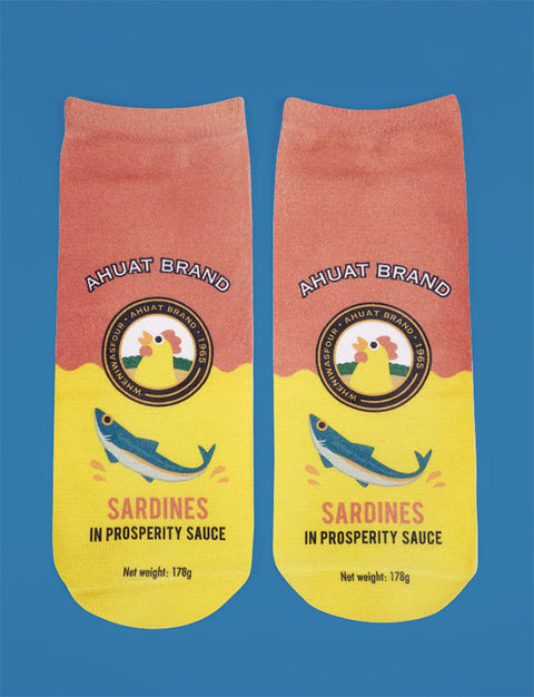 Ahuat Sardine socks