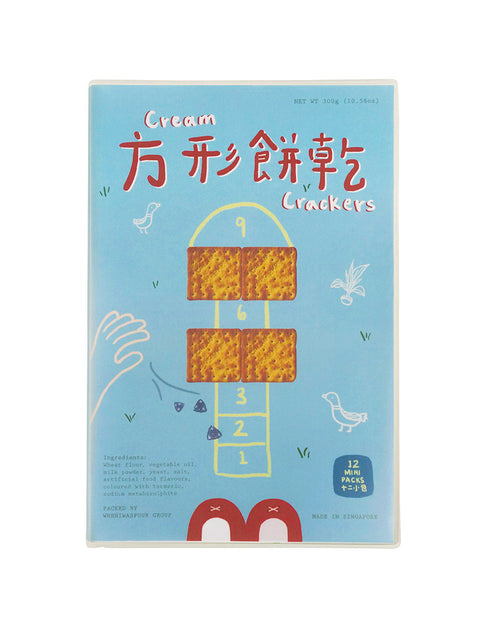 Cream Cracker Notebook (lined)
