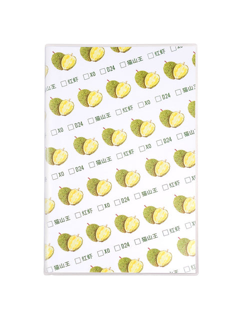 A5 Durian Notebook in white