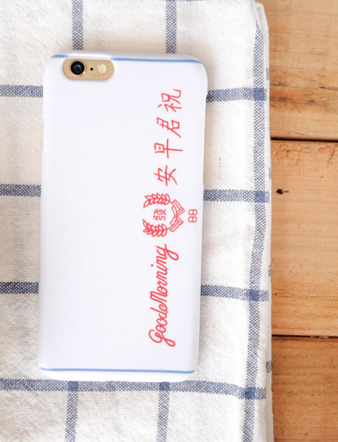 Good Morning Towel Phone case