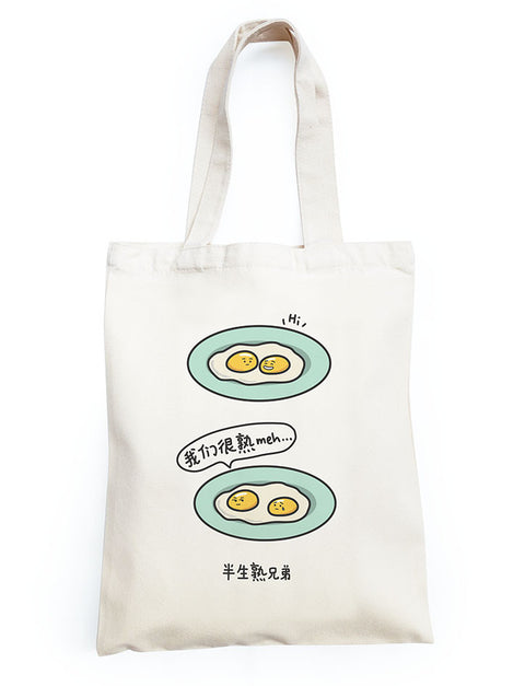 Half-Boiled Eggs Totebag