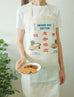 Vintage kopitiam apron as gifts for friends who love to cook