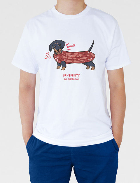 Lap Cheong Dog  (with kid's sizes)