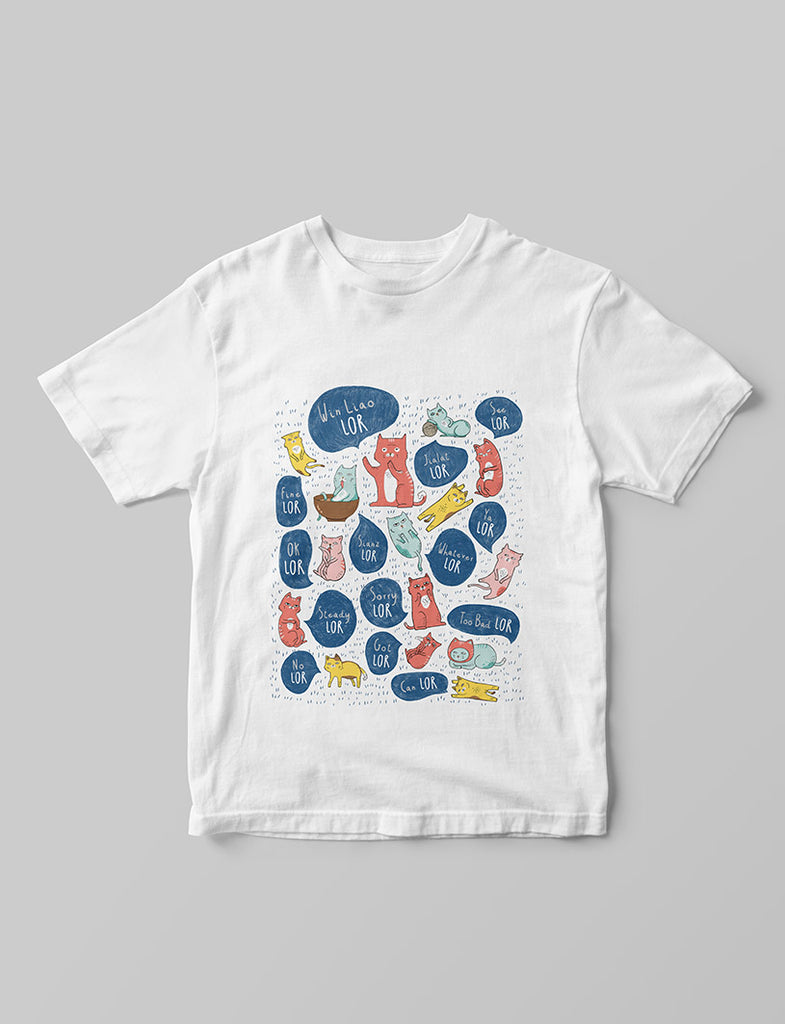 "Singlish ""Lor"" T-Shirt"