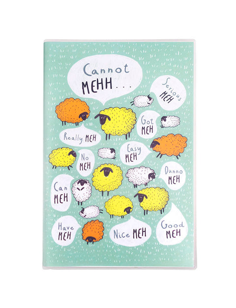 "Singlish A5 Notebook - ""Meh"""