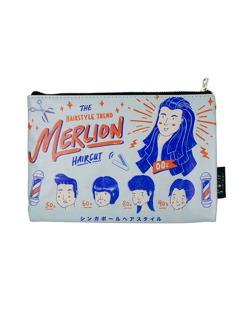Merlion Hairstyle Pouch