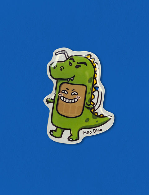 Cute Fridge Magnet Milo Godzilla Kopitiam Hero