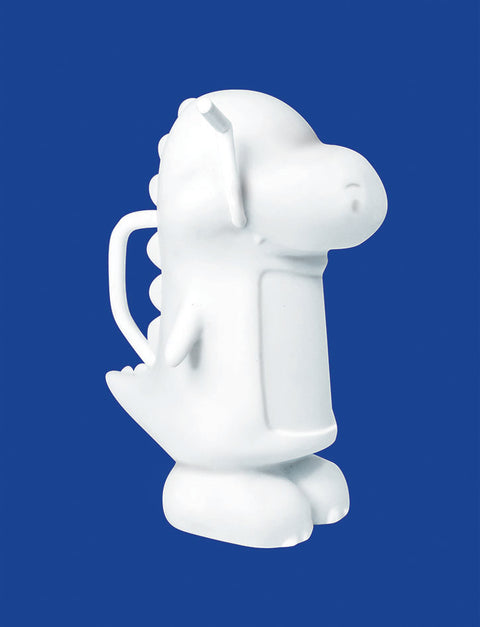 Milo Dinosaur Vinyl Toy for you to paint to your heart's content