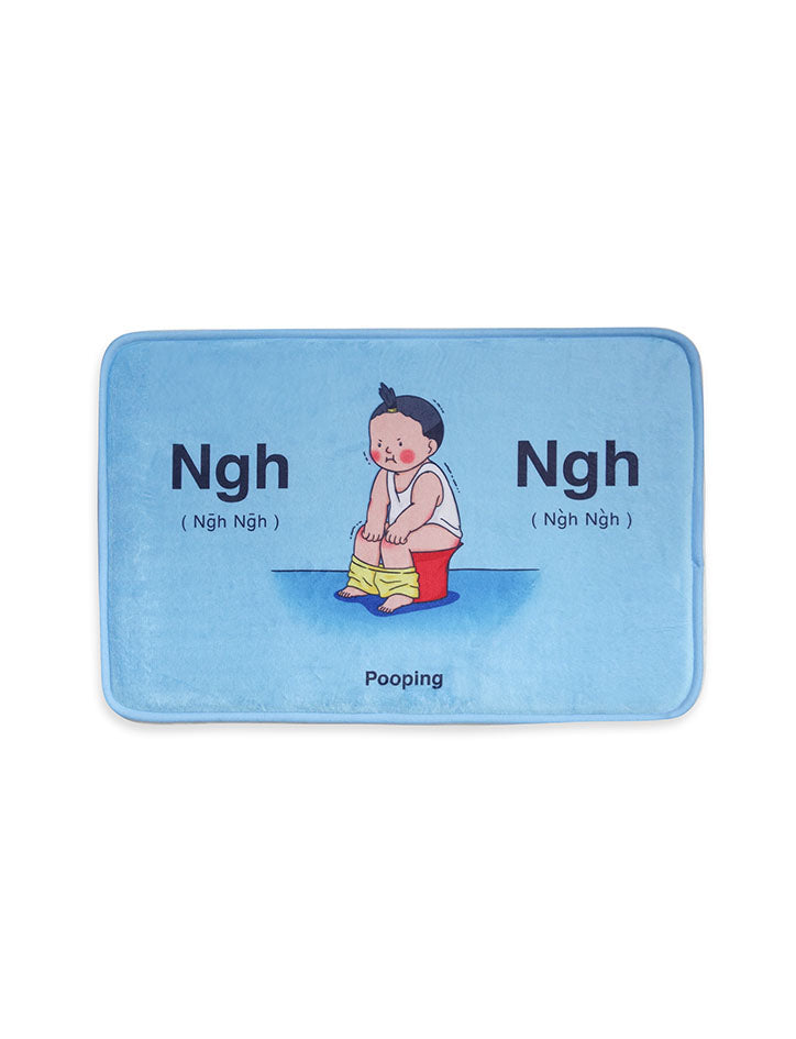 Cute Singapore Lifestyle Products - Ngh Ngh Door Mat