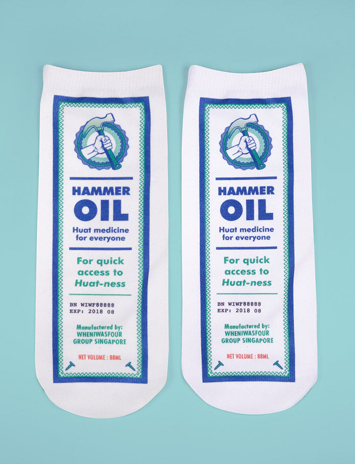 Hammer Oil socks