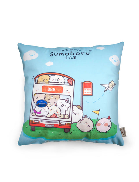 Bos In Bus Cushion Cover