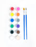 12 Multi-Coloured Acrylic Paint Set