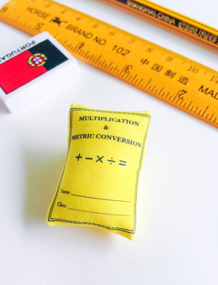 Multiplication & Metric Conversion Book Pin